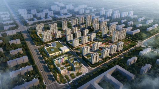 临淄城南棚户区改造新店片区10,11,12楼项目
